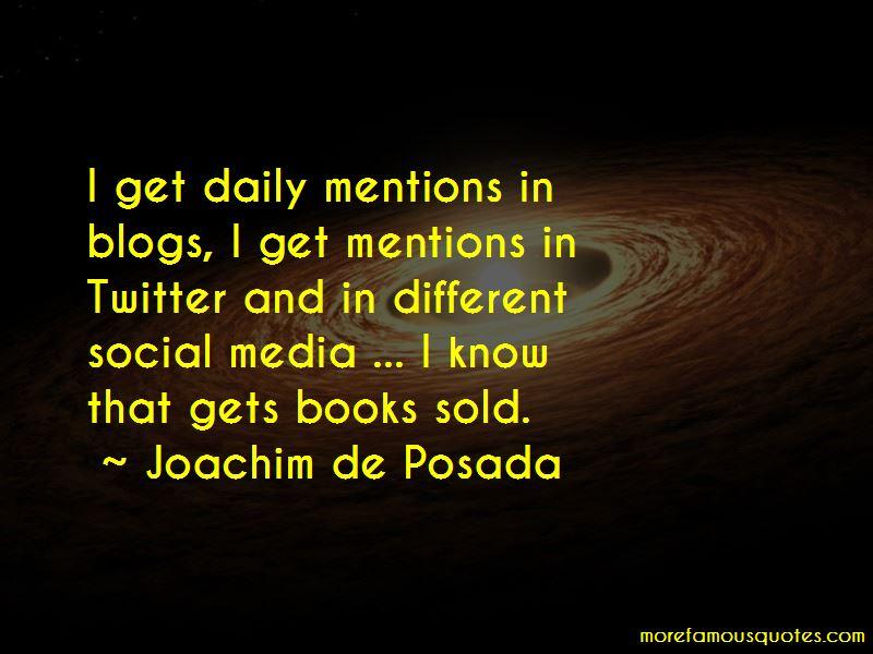 Joachim De Posada Quotes Pictures 2