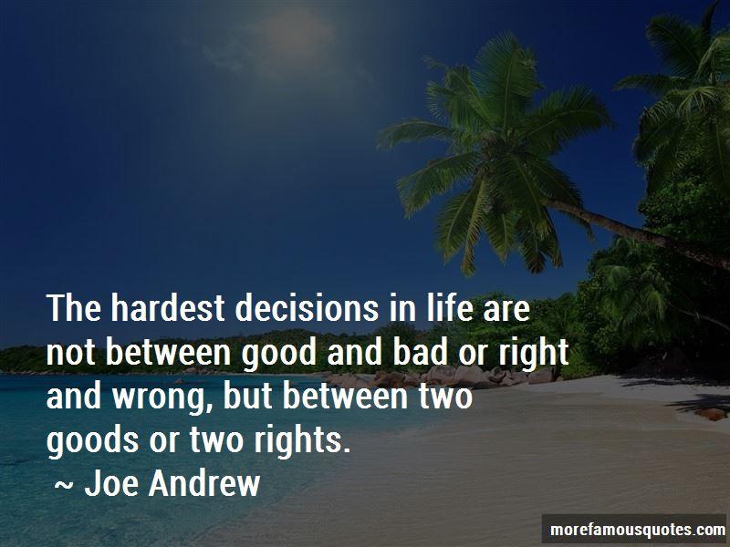 Joe Andrew Quotes Pictures 3