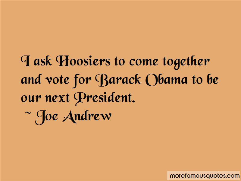 Joe Andrew Quotes Pictures 4