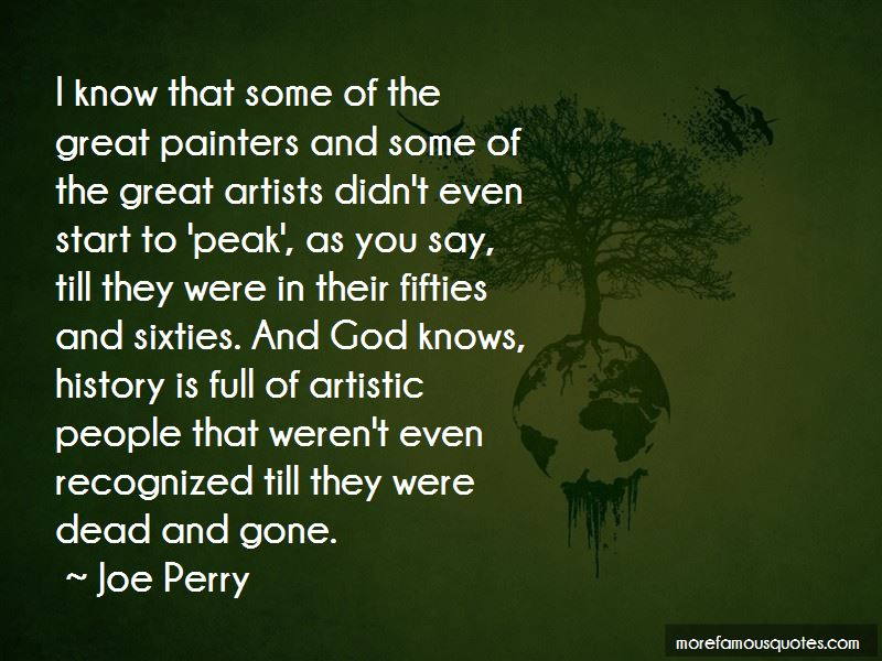 Joe Perry Quotes