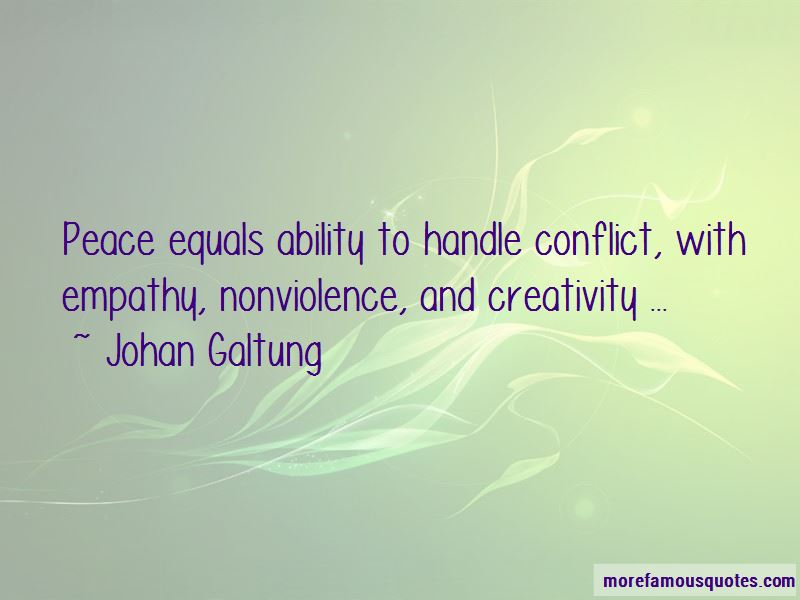 Johan Galtung Quotes Pictures 3