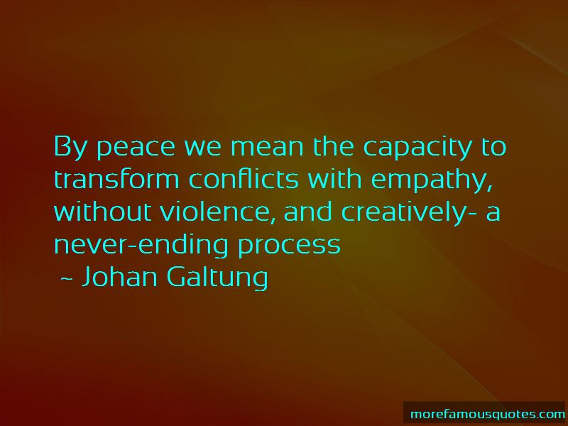 Johan Galtung Quotes Pictures 4