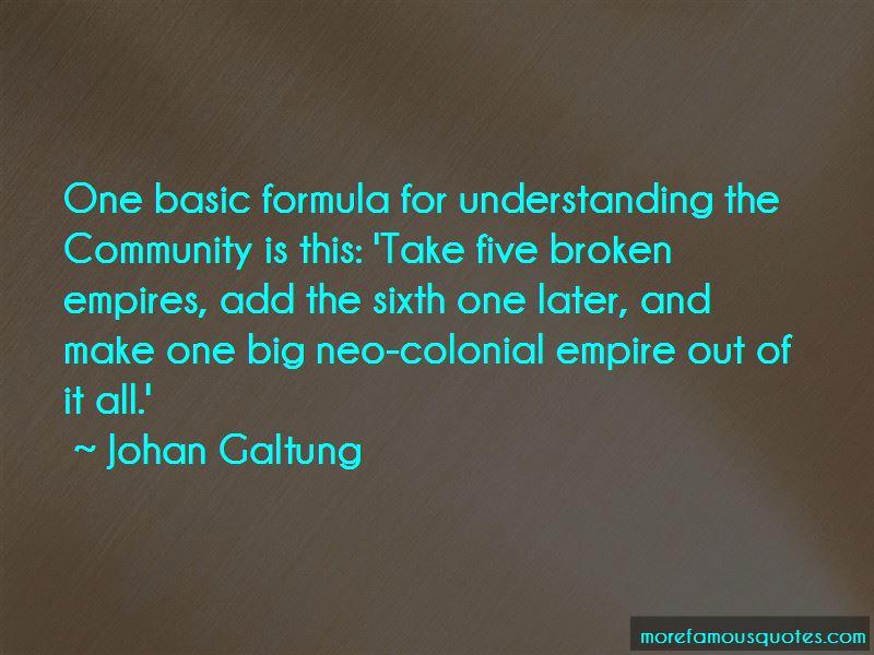 Johan Galtung Quotes