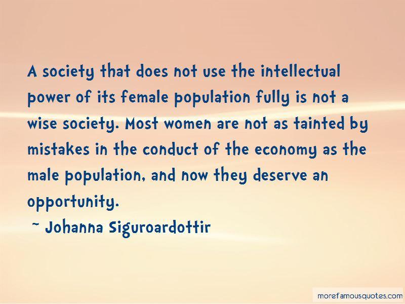 Johanna Siguroardottir Quotes