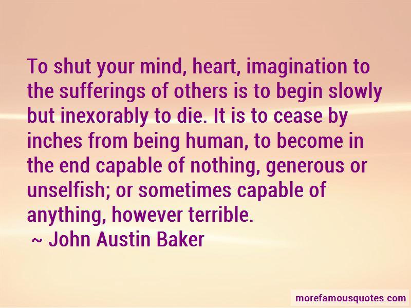 John Austin Baker Quotes