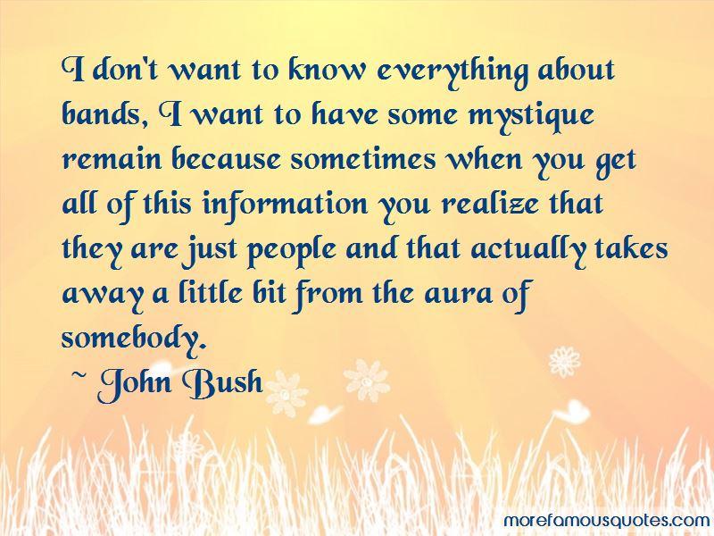 John Bush Quotes Pictures 2