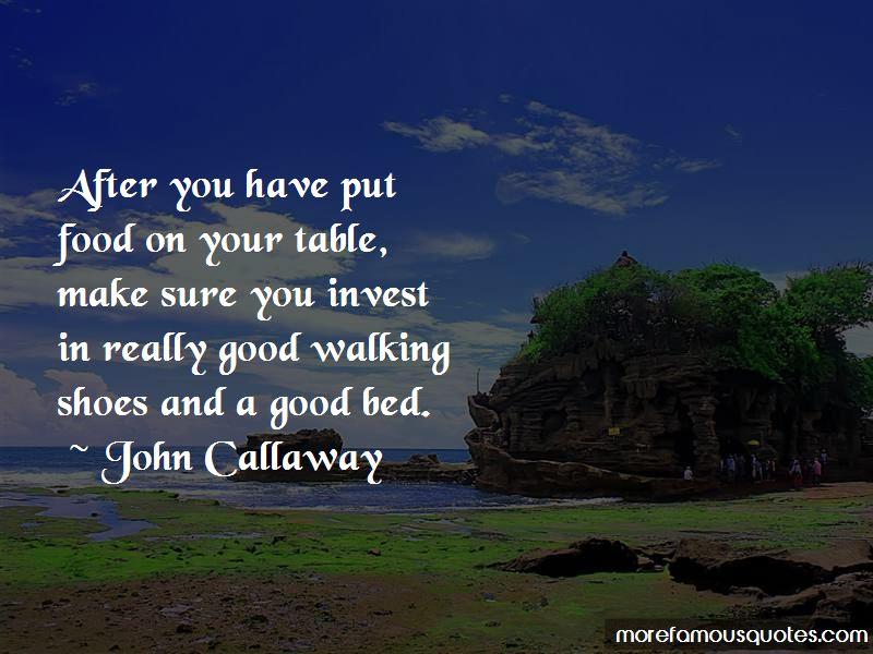 John Callaway Quotes