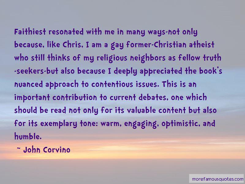 John Corvino Quotes