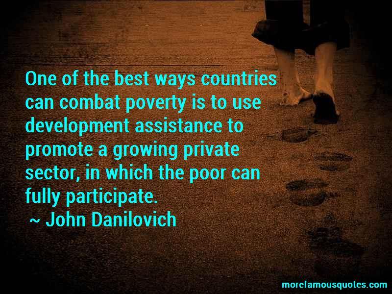 John Danilovich Quotes
