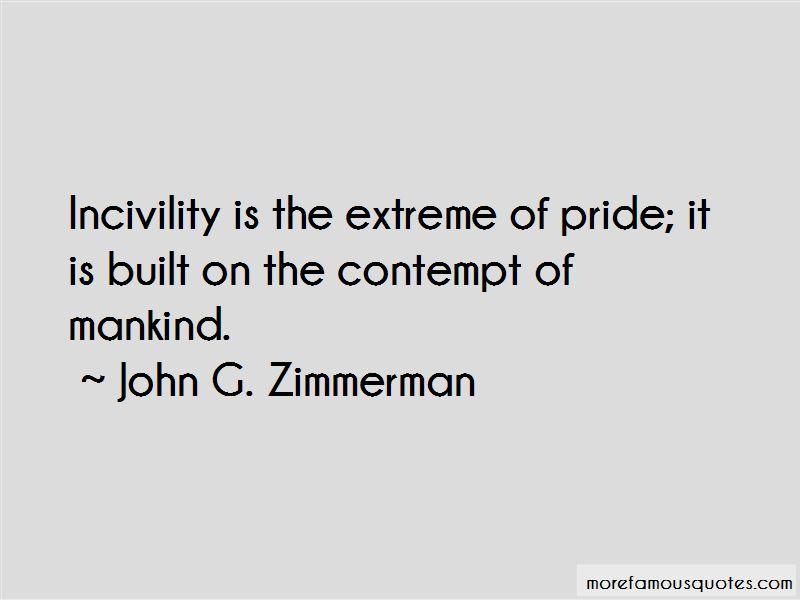 John G. Zimmerman Quotes