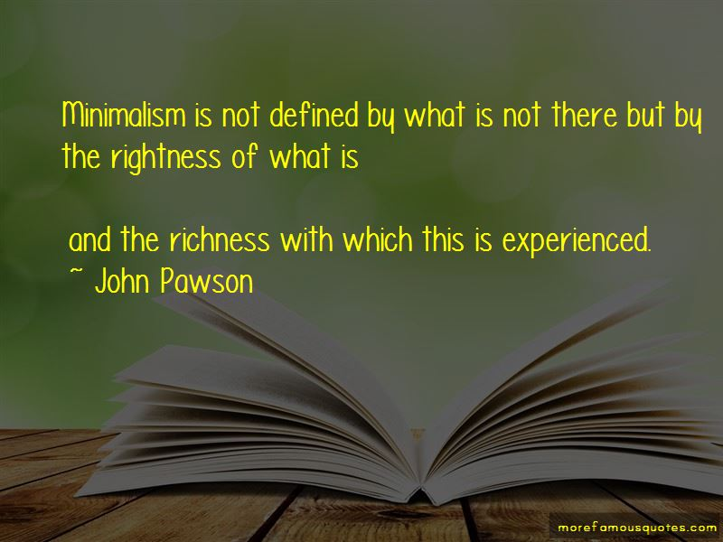 John Pawson Quotes