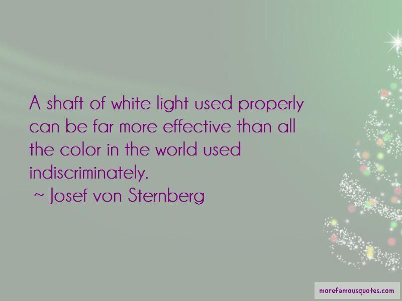 Josef Von Sternberg Quotes Pictures 2