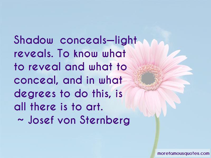 Josef Von Sternberg Quotes