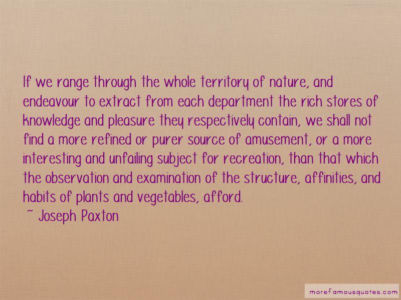 Joseph Paxton Quotes