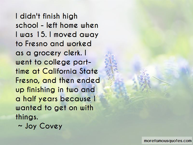 Joy Covey Quotes Pictures 4