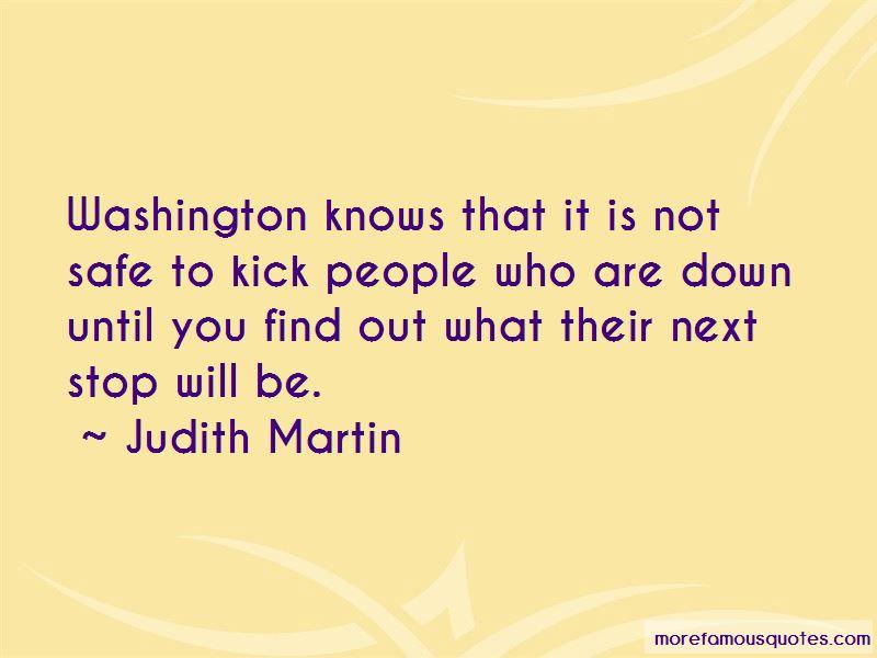 Judith Martin Quotes