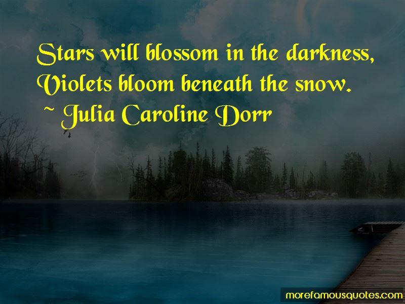 Julia Caroline Dorr Quotes
