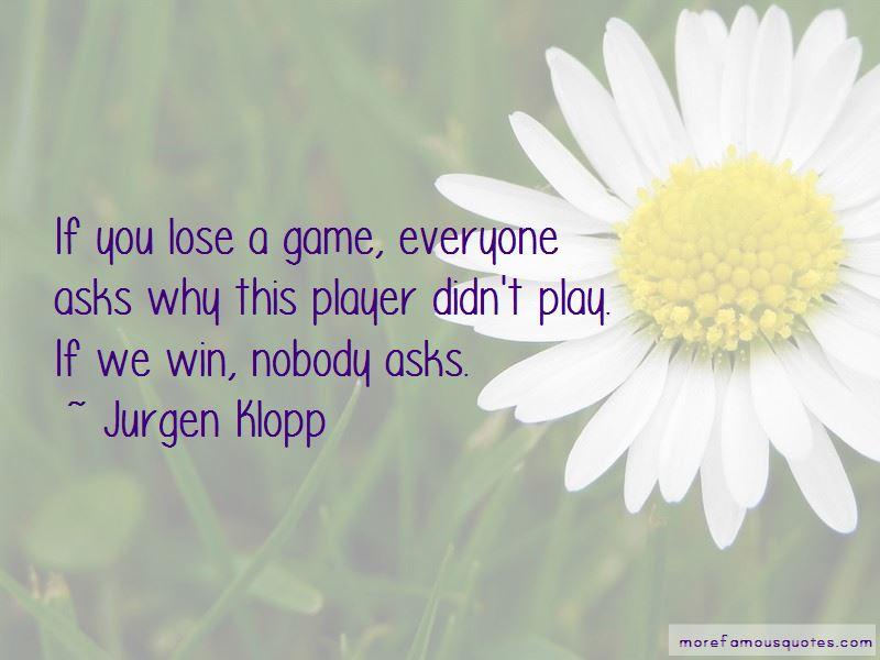 Jurgen Klopp Quotes