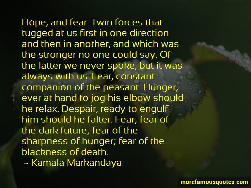 Kamala Markandaya Quotes