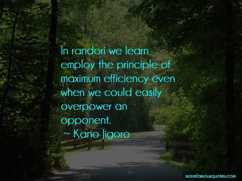 Kano Jigoro Quotes