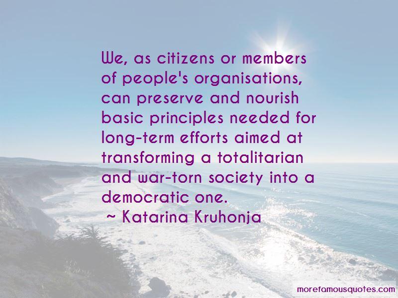 Katarina Kruhonja Quotes