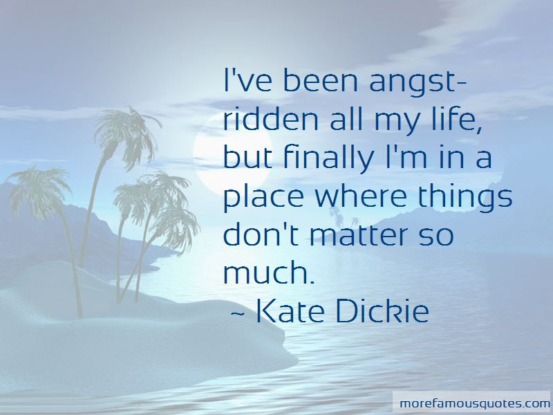 Kate Dickie Quotes Pictures 3