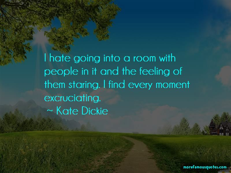 Kate Dickie Quotes