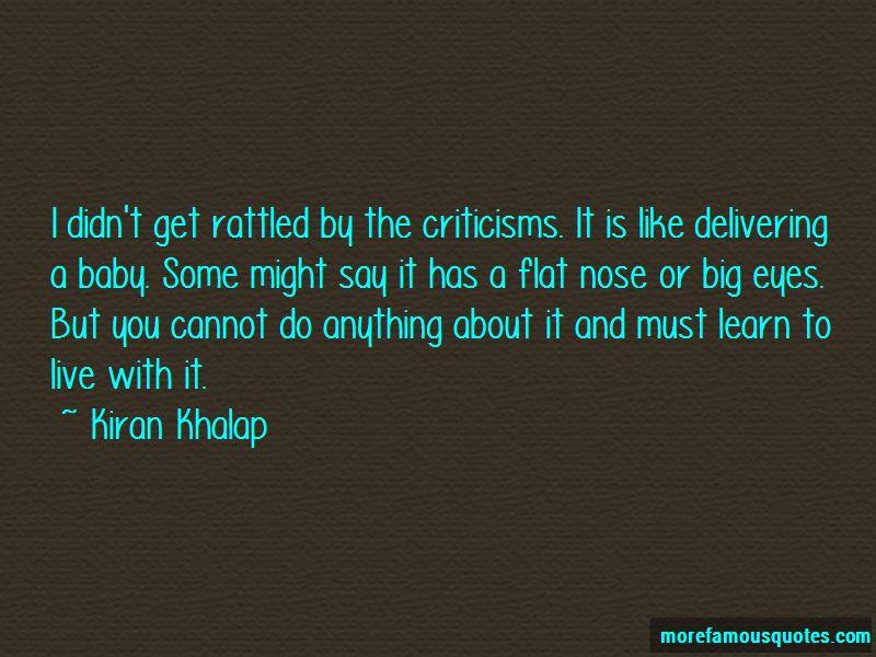 Kiran Khalap Quotes