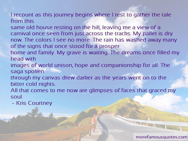 Kris Courtney Quotes