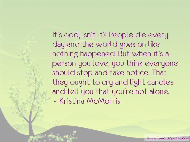 Kristina McMorris Quotes