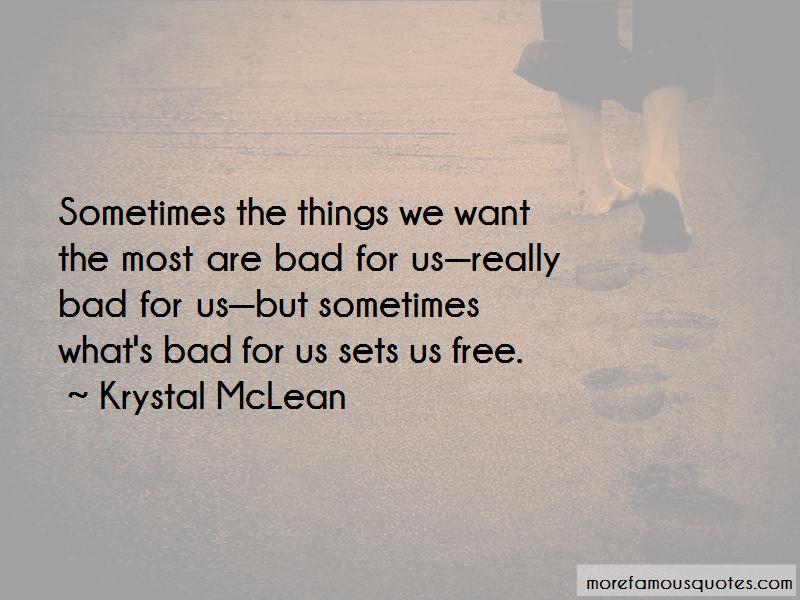 Krystal McLean Quotes