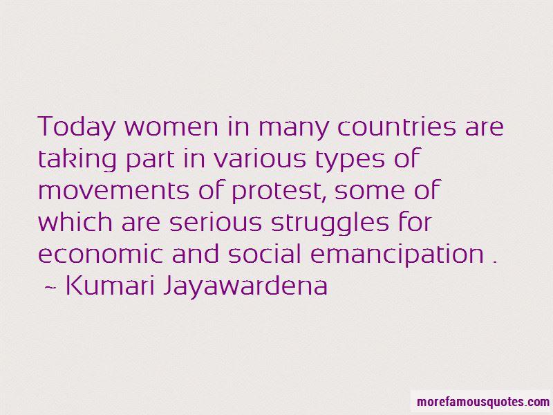 Kumari Jayawardena Quotes