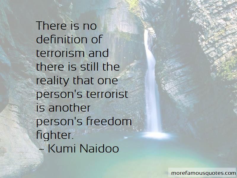 Kumi Naidoo Quotes Pictures 4
