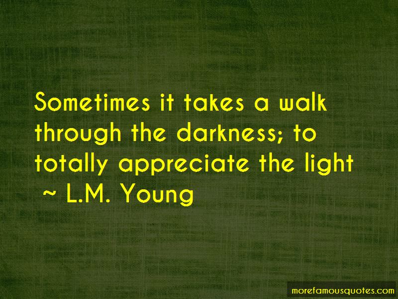 L.M. Young Quotes