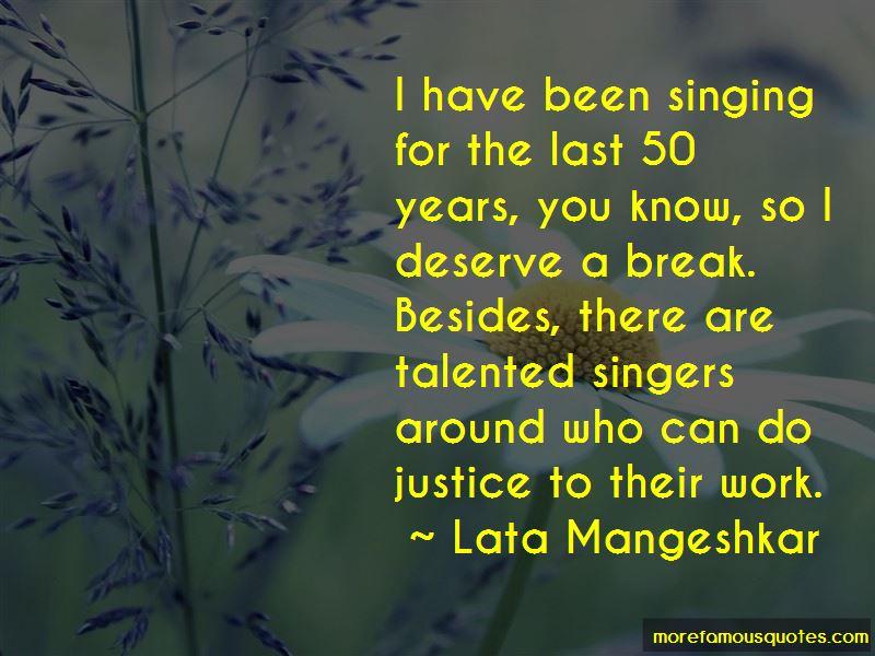 Lata Mangeshkar Quotes