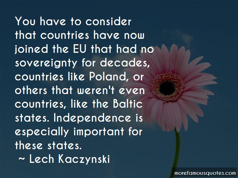 Lech Kaczynski Quotes