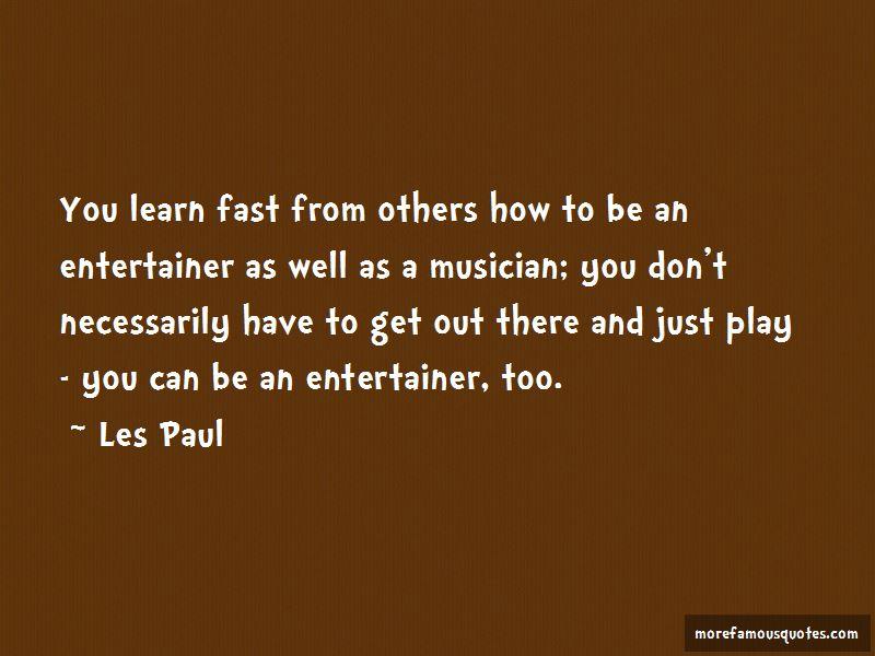 Les Paul Quotes Pictures 3