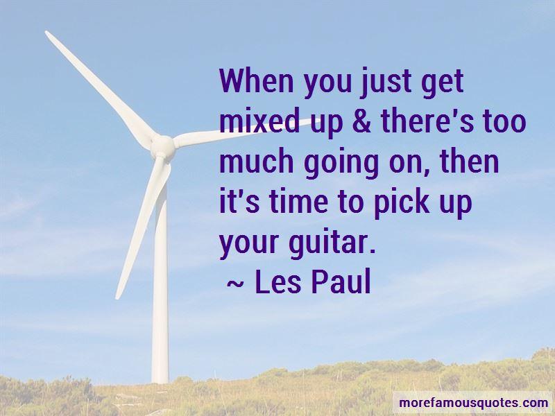 Les Paul Quotes