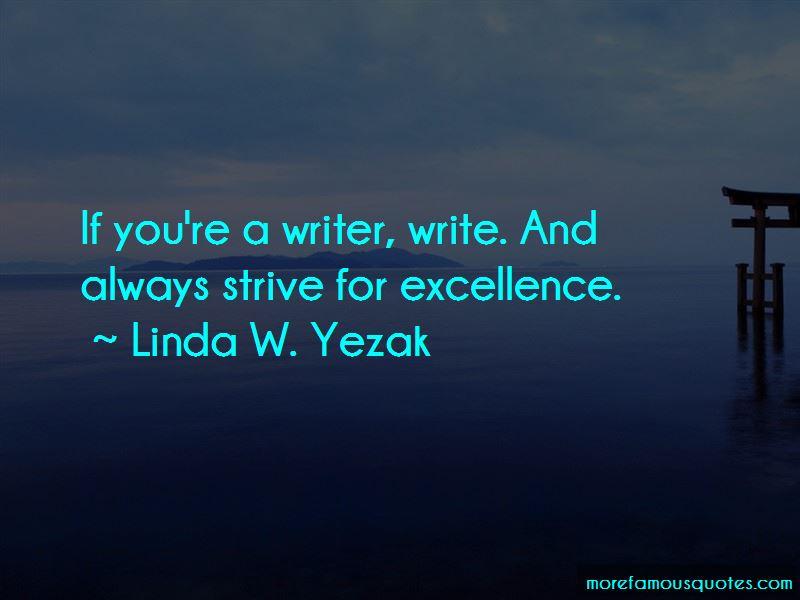 Linda W. Yezak Quotes Pictures 3
