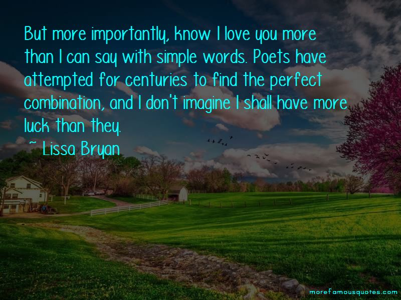 Lissa Bryan Quotes Pictures 2