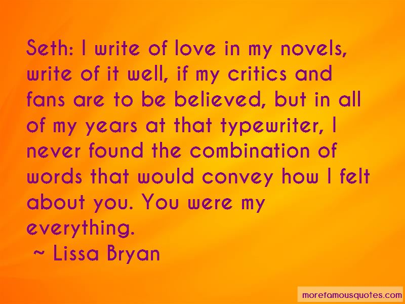 Lissa Bryan Quotes Pictures 4