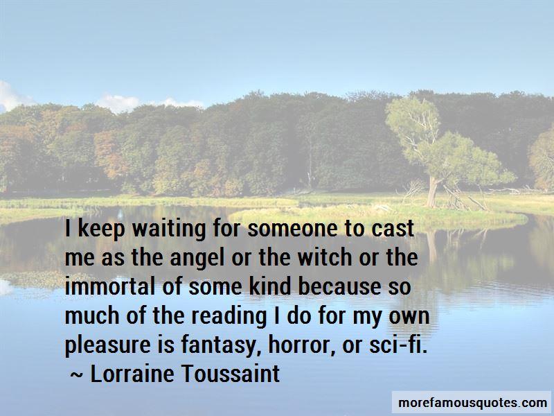 Lorraine Toussaint Quotes Pictures 2