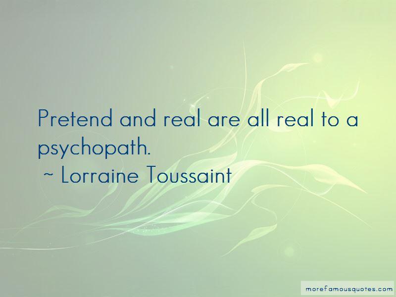 Lorraine Toussaint Quotes