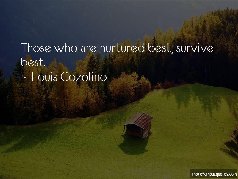 Louis Cozolino Quotes