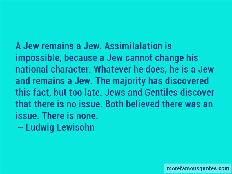 Ludwig Lewisohn Quotes Pictures 3
