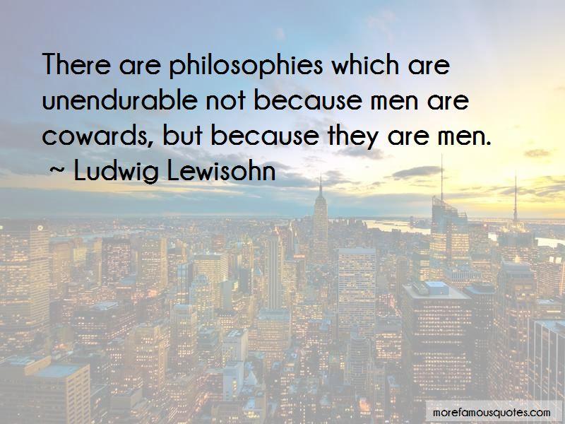 Ludwig Lewisohn Quotes