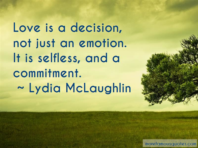 Lydia McLaughlin Quotes