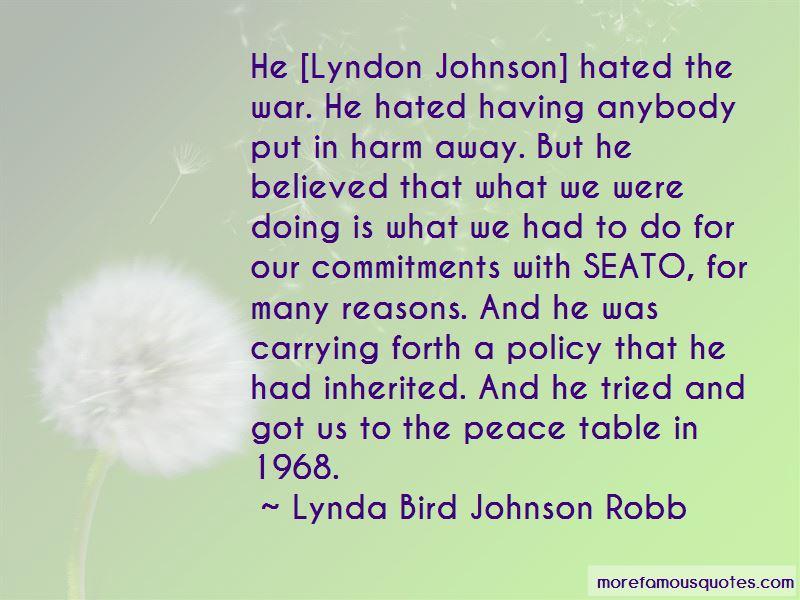 Lynda Bird Johnson Robb Quotes Pictures 3