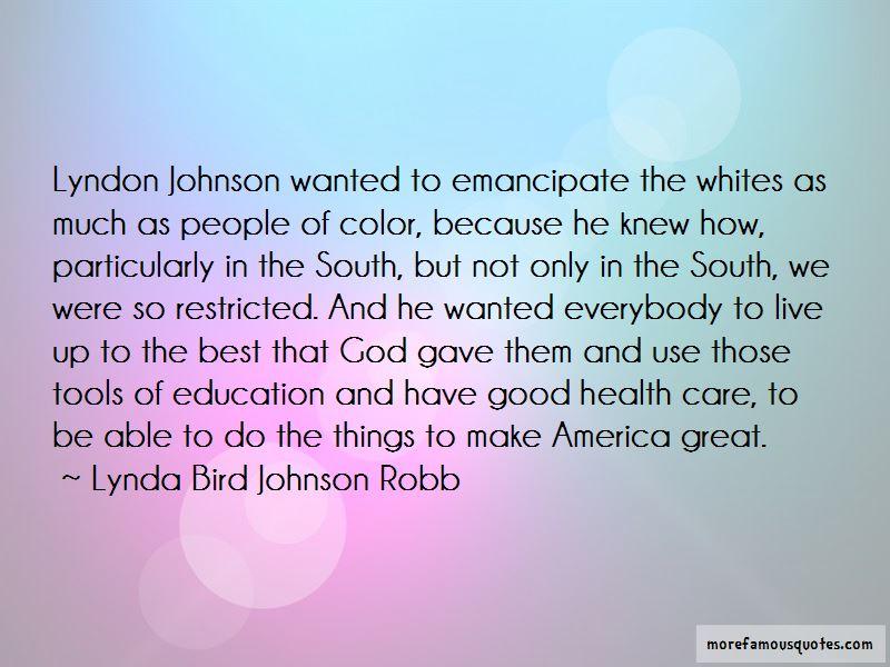 Lynda Bird Johnson Robb Quotes Pictures 4