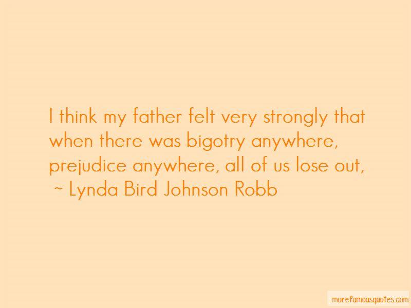 Lynda Bird Johnson Robb Quotes
